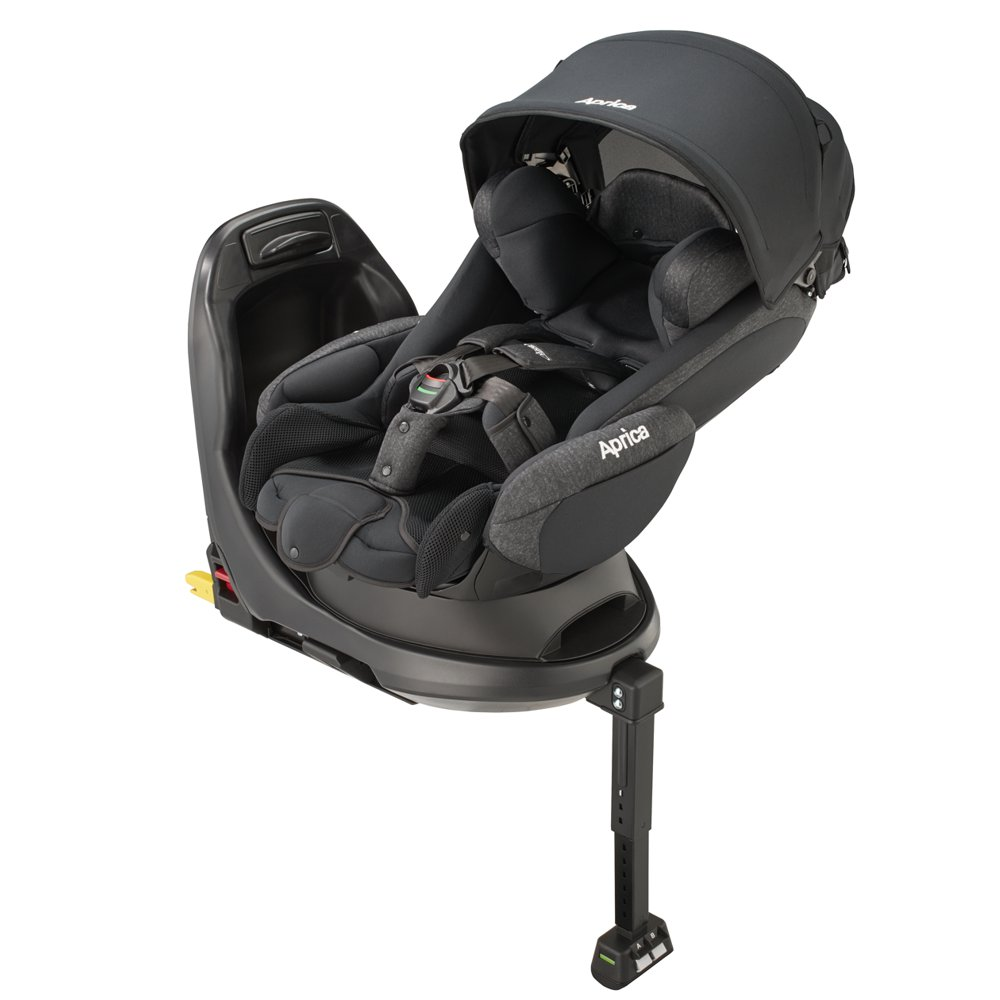 Aprica Fladea GROW Isofix STD - Black
