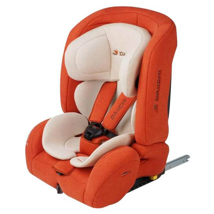 Daiichi D-Guard Toddler ISOFIX - Organic Pure Orange