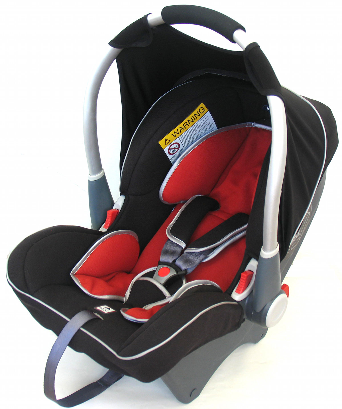 Klippan Dinofix - Black-DarkRed