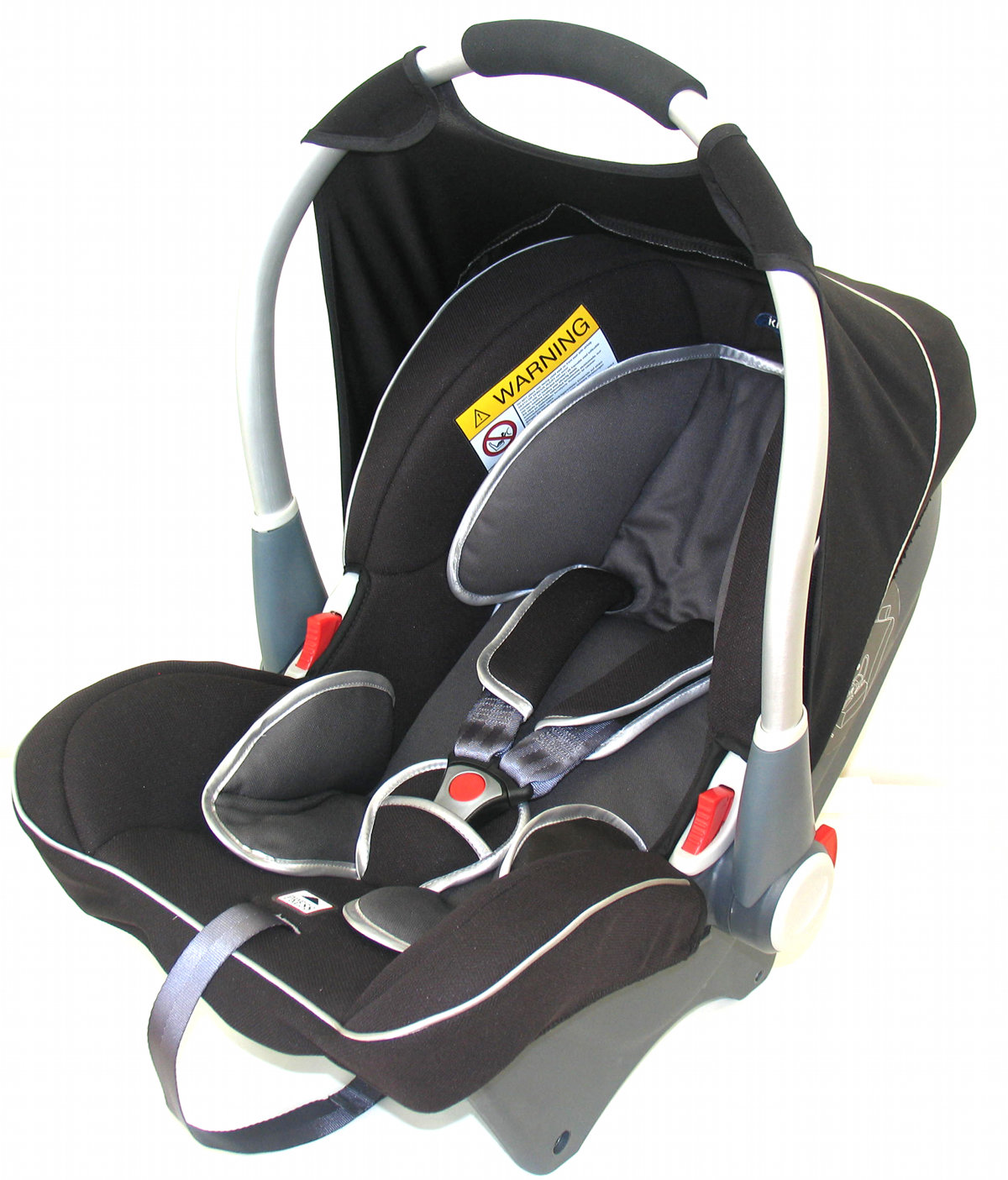 Klippan Dinofix - Black-Grey