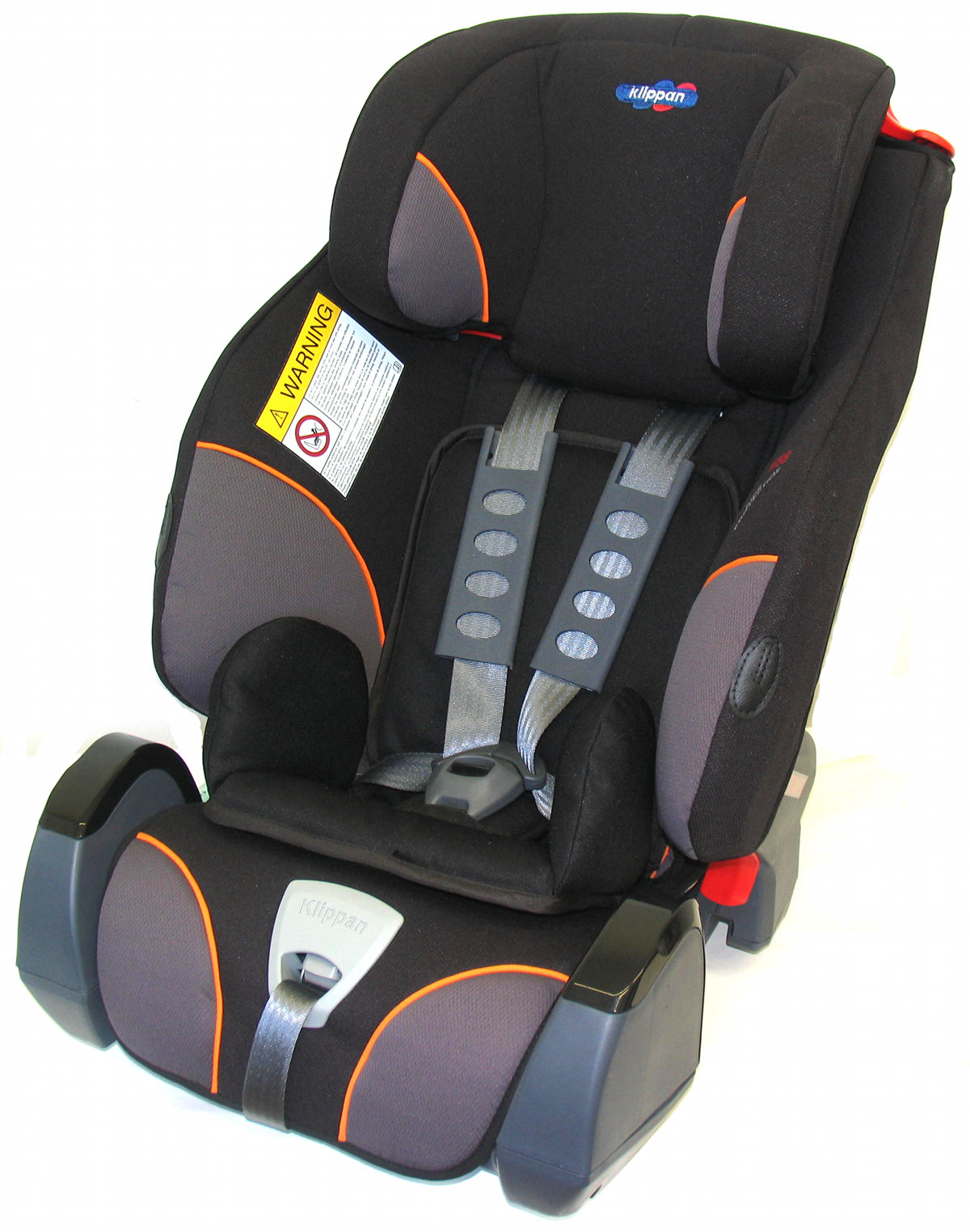 Klippan Triofix - Black-Orange