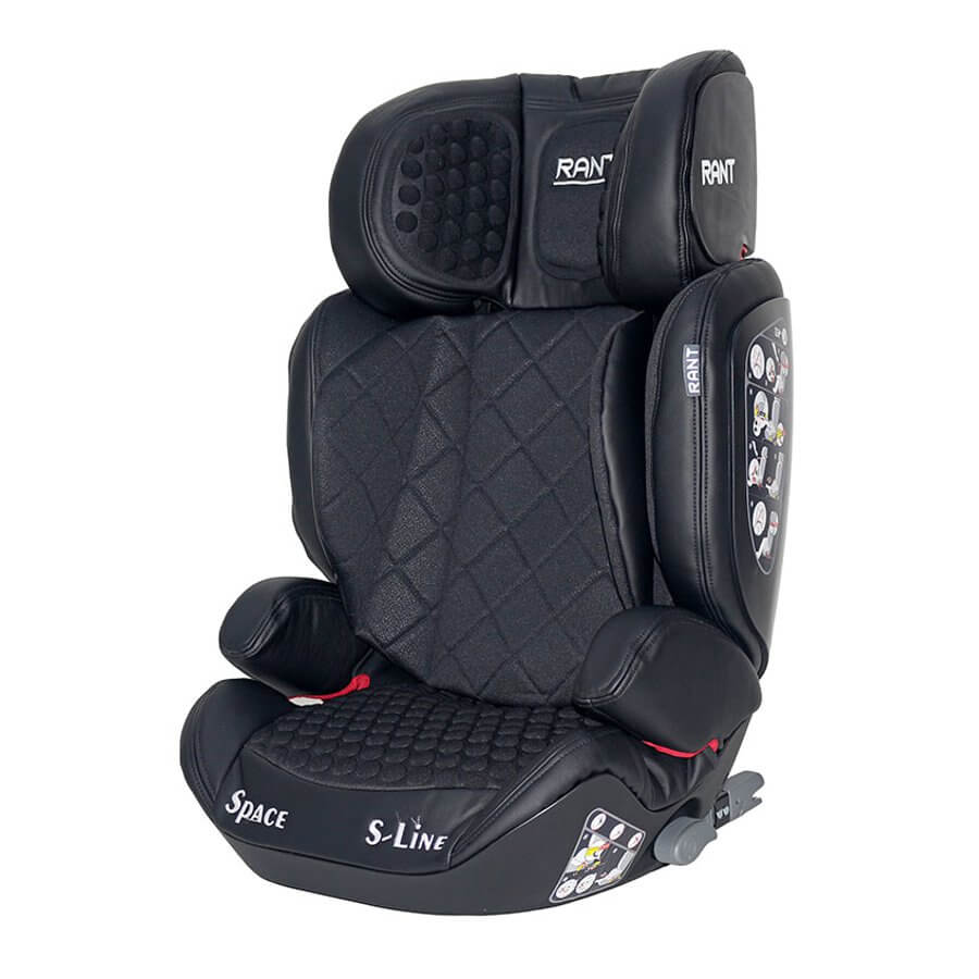 Rant Space (B-Tiger) Isofix - Black/черный