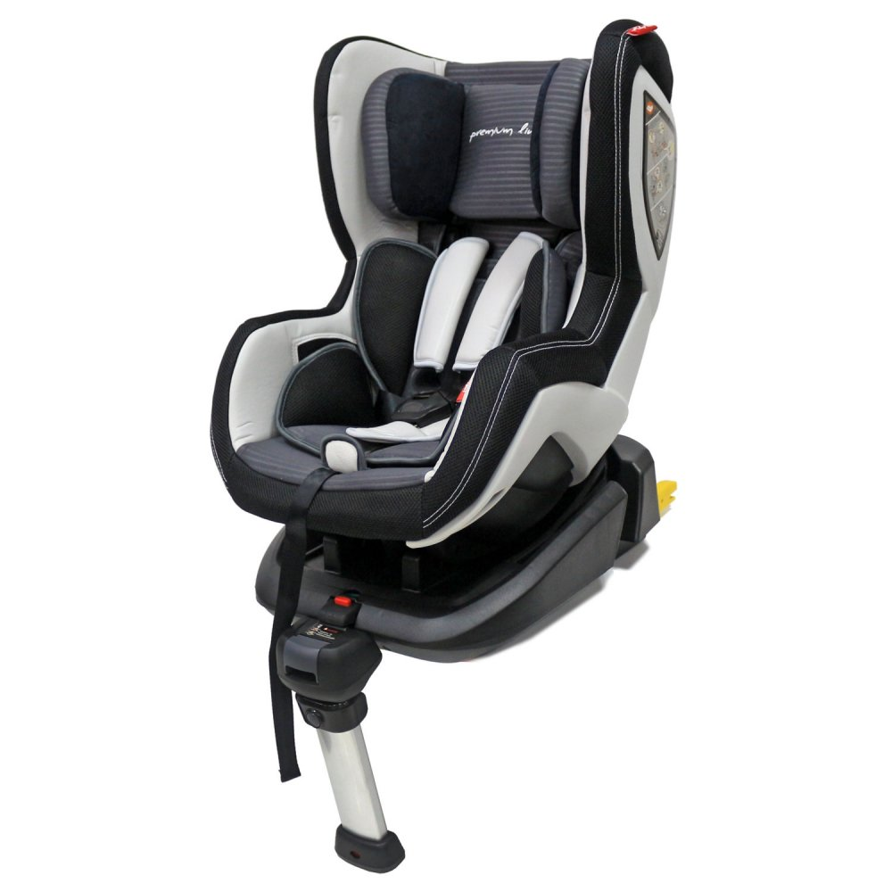 Rant Luxury Isofix (LB589) - черно-серый/black