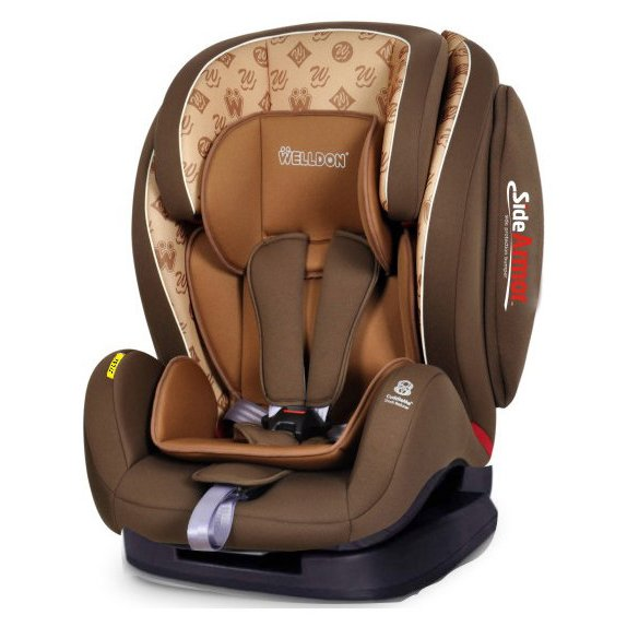 Welldon Encore Fit SideArmor CuddleMe Isofix - BS07-TTBCE2 Hallmarks Brown