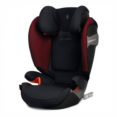 Cybex Solution S-Fix - Ferrari Victory Black