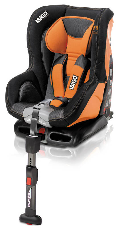 ISIGO Saturno Isofix - Orange-Black