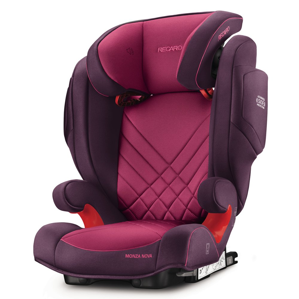 Recaro Monza Nova 2 Seatfix - Power Berry
