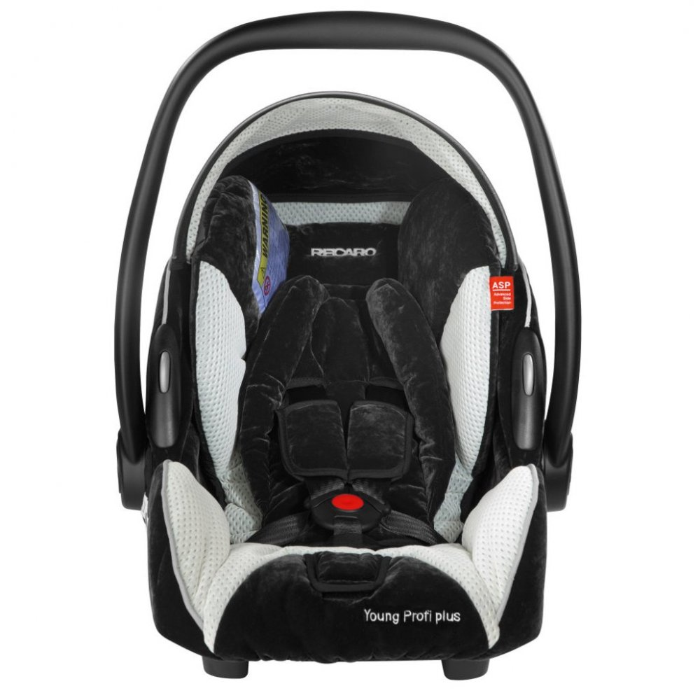 Recaro Young Profi plus - Silver (микрофибра)