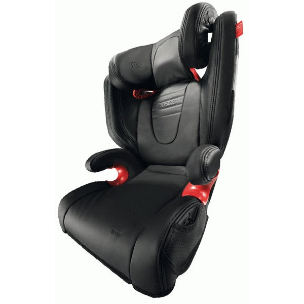 Recaro Monza leather SeatFix - Leather Black