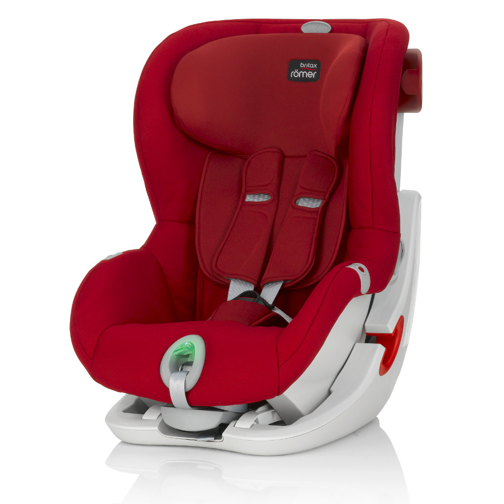 Britax Roemer King II ATS - Flame Red