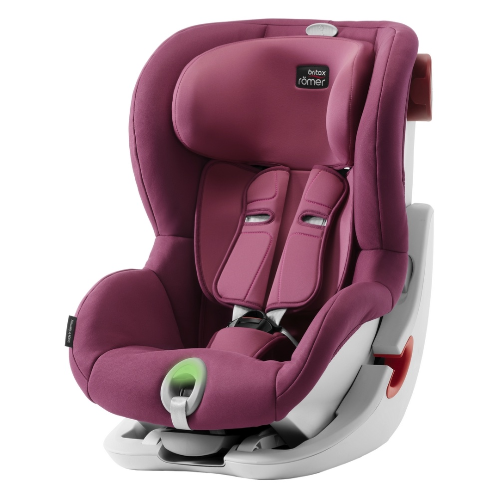 Britax Roemer King II ATS - Wine Rose