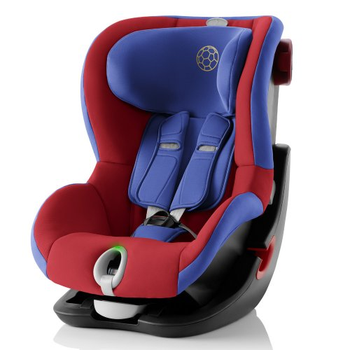 Britax Roemer King II LS - Football Edition (Black Series, Highline)