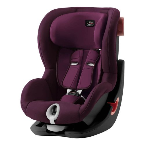 Britax Roemer King II - Burgundy Red (Black Series)