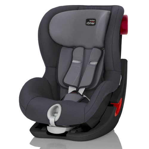 Britax Roemer King II - Storm Grey (Black Series)